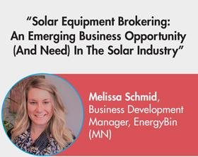 Melissa Schmid | EnergyBin
